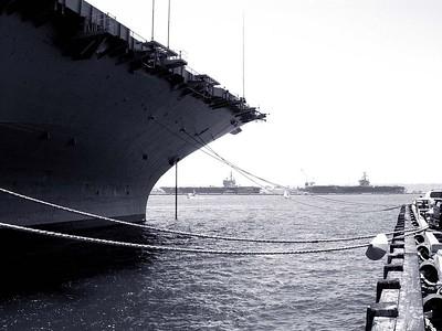 USS Ronald Reagan Arrives in San Diego