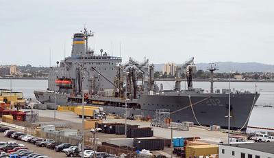USS Yukon AO-202 Fleet Oiler is 21 Years Old