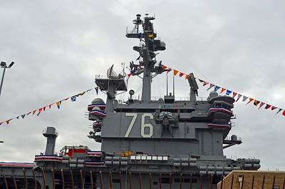 USS Ronald Reagan CVN-76 First View, June 5, 2015