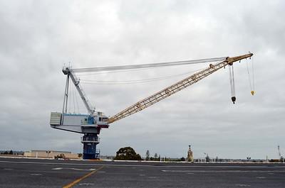 Huge Crane on the Pier