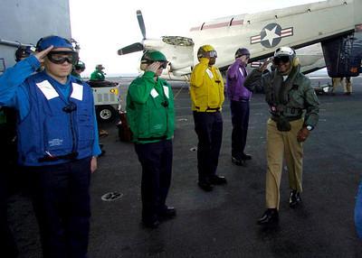 USS Roosevelt Aircraft Carrier