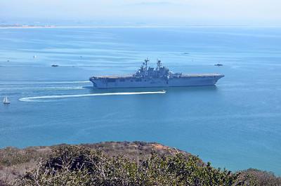 LHD USS Makin Island, the Newest San Diego Ship