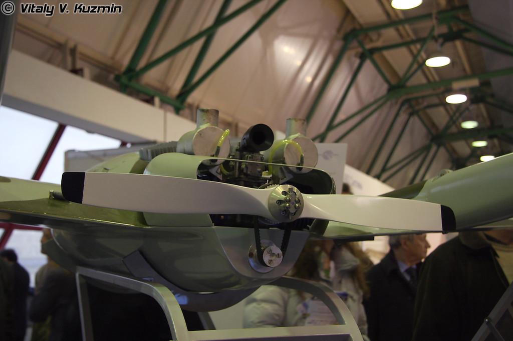 "Комплекс разведки с управляемыми ракетами 1К113 ТИПЧАК с БЛА-05 (Reconnaissance complex 1K113 TIPCHAK with guided missiles based on ""UAV-05"" vehicle)"