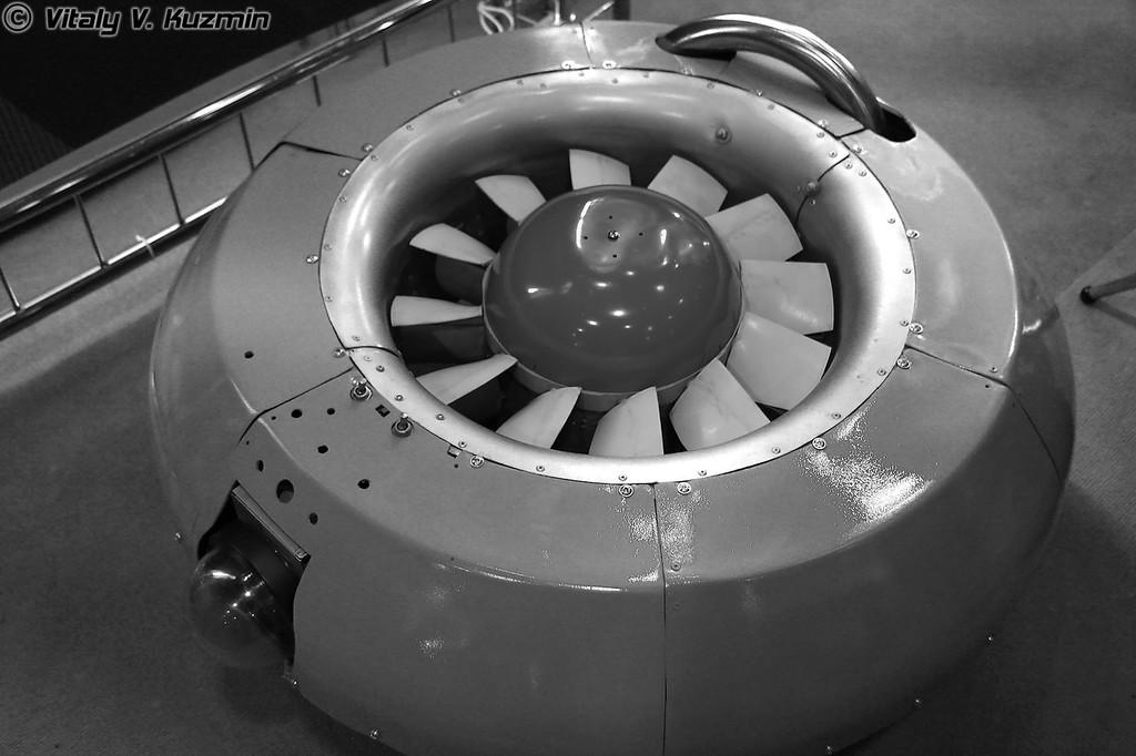 "БПЛА с закрытым винтом, разработанный НТЦ ""РИССА"" (Unknown UAV from NTTs ""RISSA"" company)"