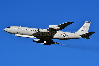 U.S. Air Force Boeing E-8C JSTARS (707) 97-0201 (msn 20318) WRB (Ken Petersen). Image: 948105.