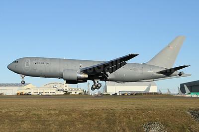 U.S. Air Force Boeing KC-46A Pegasus (767-2C) N884BA (msn 41983) PAE (Nick Dean). Image: 945878.