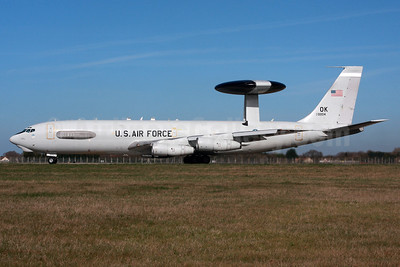 U.S. Air Force Boeing E-3C Sentry 810004 (msn 22832) MHZ (SPA). Image: 937309.