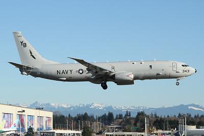 United States Navy Boeing P-8A (737-8FV) Poseidon 169343 (msn 63193) PAE (Nick Dean). Image: 952264.