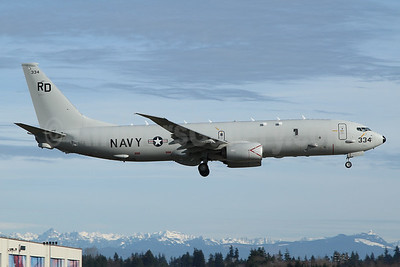 United States Navy Boeing P-8A (737-8FV) Poseidon 169334 (msn 63181) PAE (Nick Dean). Image: 952263.