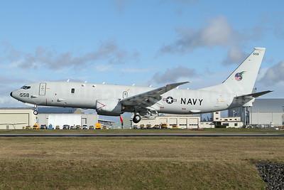 United States Navy Boeing P-8A (737-8FV) Poseidon 169558 (msn 65750) PAE (Nick Dean). Image: 952968.