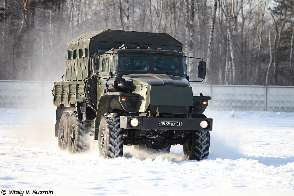Бронеавтомобиль Урал-4320 Звезда-В (Ural-4320 Zvezda-V armored vehicle)