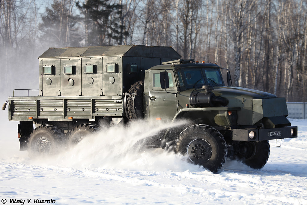 Бронеавтомобиль Урал-4320 Звезда-В (Ural-4320 Zvezda-V armored vehicle)