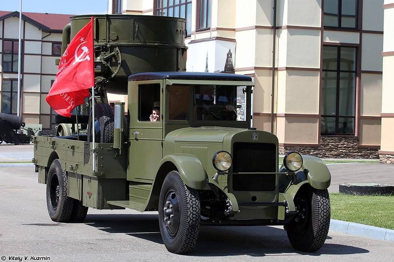 Прожекторая станция З-15-4 на базе автомобиля ЗИС-12 (3-15-4 searchlight on ZIS-12 chassis)