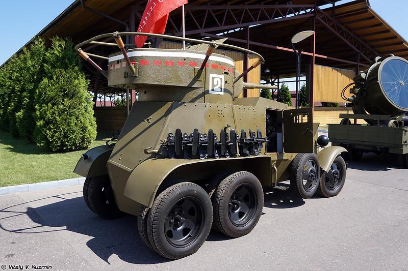 Бронеавтомобиль БА-6 (BA-6 armoured car)