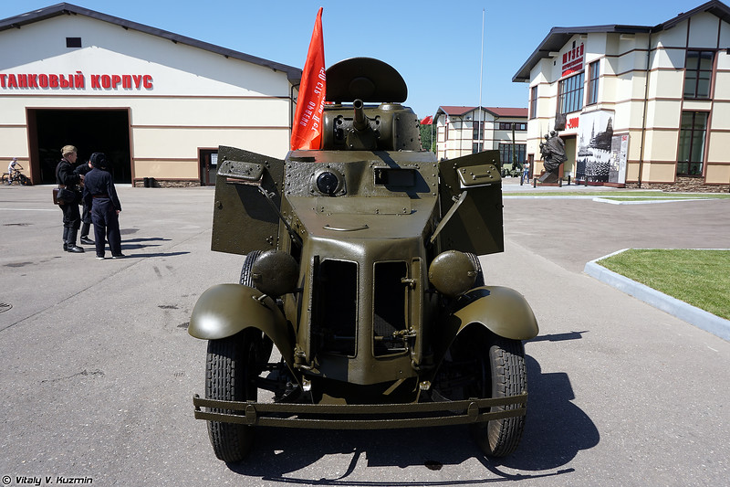 Бронеавтомобиль БА-10 (BA-10 armoured car)