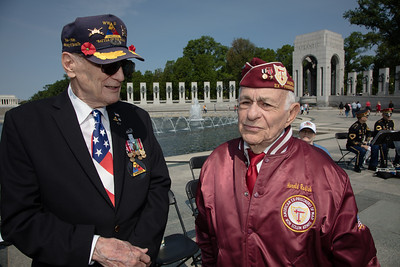 V-E Day, National World War II Memorial