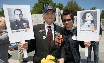 V-E Day, National World War II Memorial, Russia, USSR