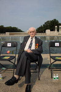 World War II veteran Abe Levin was a Lieutenant in the Soviet Army during the Second World War.