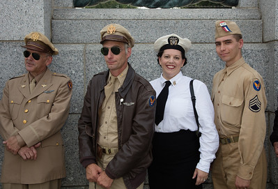 World War II reenactors