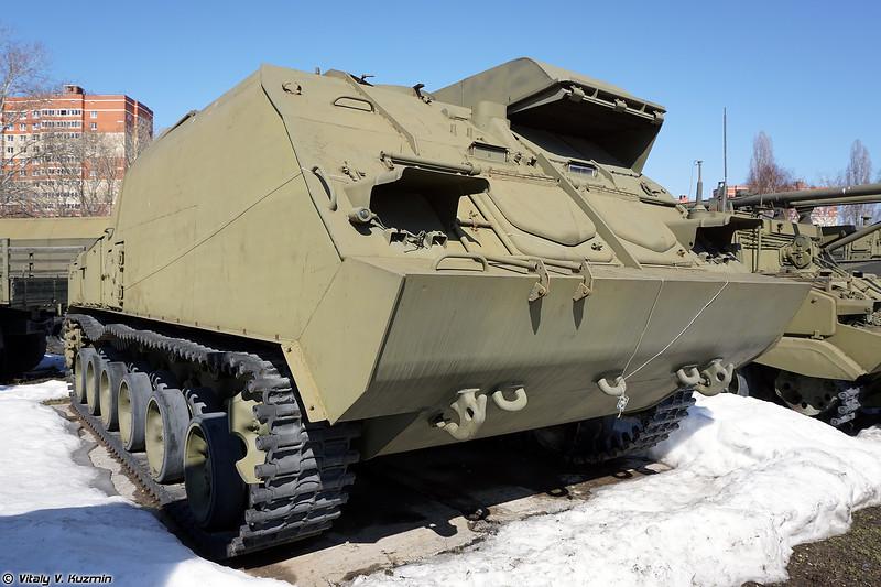 Командный пункт 9С470 из состава ЗРК 9К37 Бук (9S470 command vehicle 9K37 Buk)
