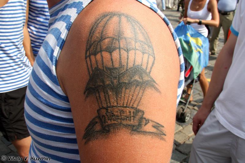 Татуировки ВДВ (Russian Airborne troops tattoo)