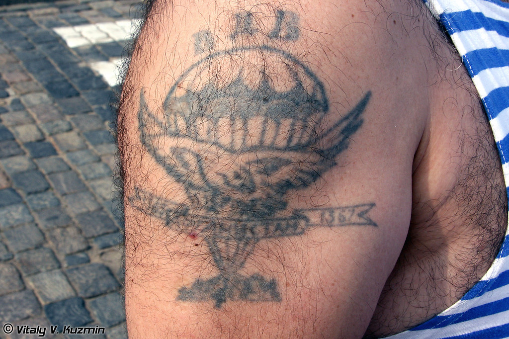 Татуировки ВДВ (Russian Airborne troops tattoo)