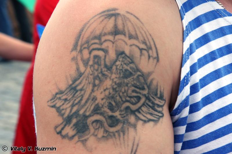 Татуировки ВДВ (VDV tattoos)