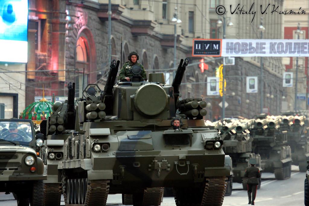 ЗРПК Тунгуска (Tunguska)