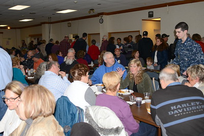 Judd Kendall VFW Post 3873 - Naperville, Illinois - Fish Fry - February 26, 2016