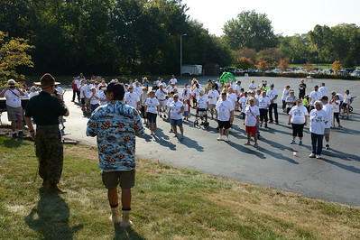 Judd Kendall VFW Post 3873 - Naperville, Illinois - 4th Annual .1K Judd-A-Thon - September 17, 2017