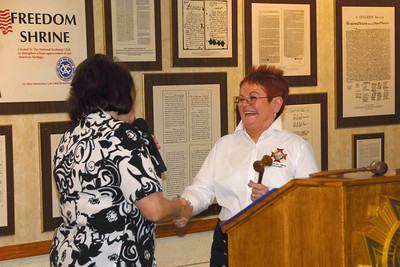 VFW Commander Installation - 2012 - Nina Petru