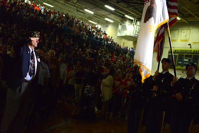 Judd Kendal VFW Post 3873 - Naperville, Illinois - Major General Mark W. Anderson - Waubonsie Valley High School - November 10, 2014