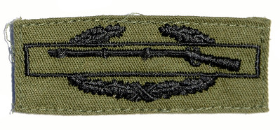 VFW Post 3873 - Panel 01 - Patch 08 - Combat Infantryman Badge (CIB)