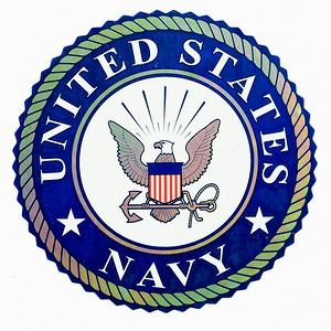 VFW Post 3873 - Panel 01 - Patch 22 - Generic US Navy Sticker