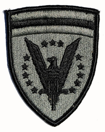 VFW Post 3873 - Panel 01 - Patch 23 - European Command (ACU)