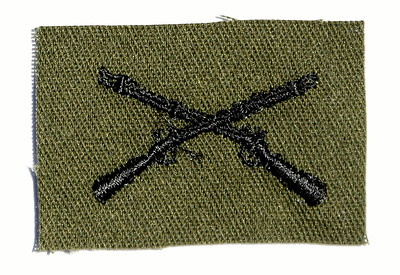VFW Post 3873 - Panel 01 - Patch 11 - US Army Infantry Branch Insignia