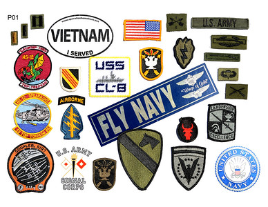 VFW Post 3873 - Panel 01 - All Patches