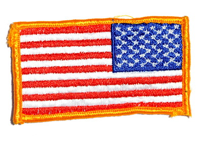 VFW Post 3873 - Panel 01 - Patch 05 - US Flag Coalition/Multinational Operations/Afghanistan