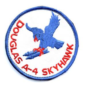 VFW Post 3873 - Panel 10 - Patch 01 - Douglas A-4 Skyhawk Flight Jacket Patch