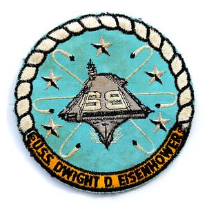 VFW Post 3873 - Panel 10 - Patch 04 - Official USS DWIGHT D. EISENHOWER (CVN-69) Flight Suit Patch