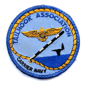 VFW Post 3873 - Panel 10 - Patch 05 - Tailhook Association, Carrier Navy
