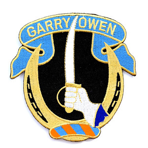 VFW Post 3873 - Panel 10 - Patch 15 - Garryowen, Official Nickname of the US Army's 7th Cavalry Regiment (Originally Formed in 1866)