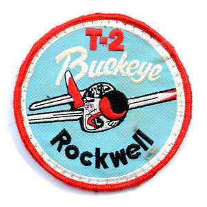 VFW Post 3873 - Panel 10 - Patch 06 - T-2 Buckeye, Jet Trainer