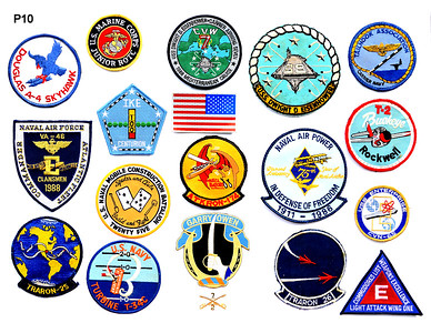 VFW Post 3873 - Panel 10 - All Patches