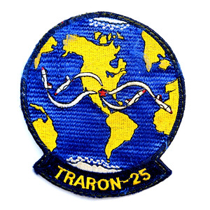 "VFW Post 3873 - Panel 10 - Patch 13 - US Navy Fixed Wing Training Squadron 25, ""The Cougars"""