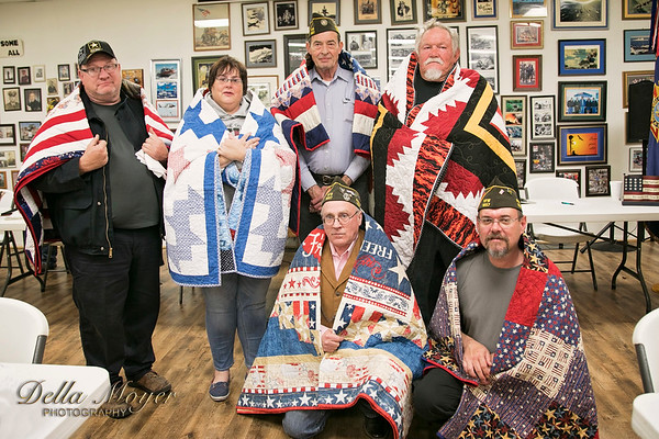 VFW Quilts of Valor 2017