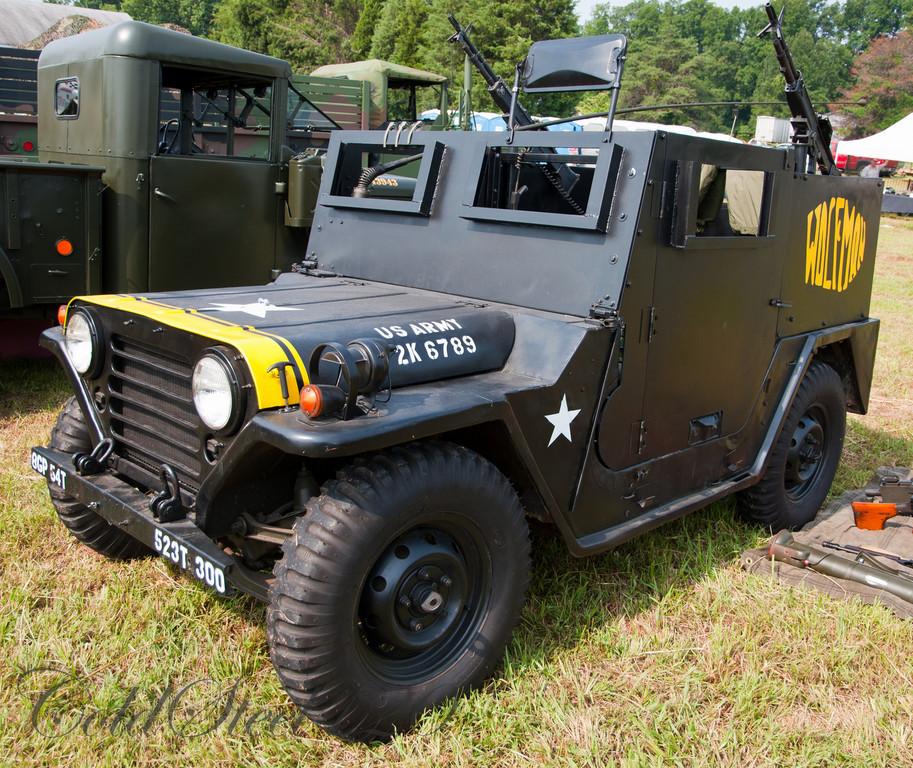 Wolfman Gun Jeep