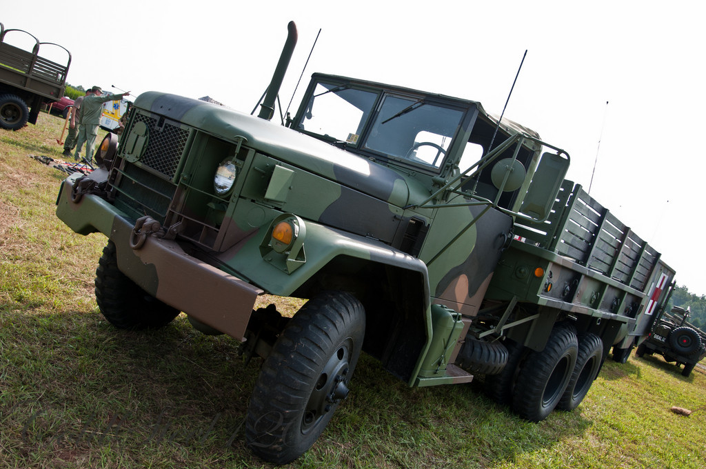 M35 2½ ton cargo truck aka Deuce and a Half