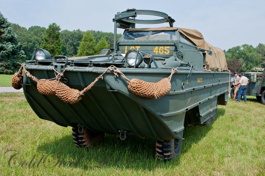 Dukw Amphibian Truck