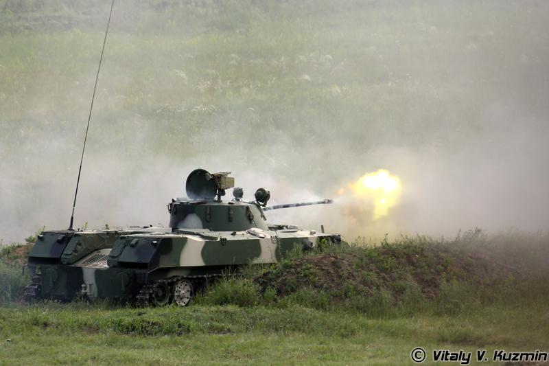 Стерльбы БМД-2 (BMD-2 firing)